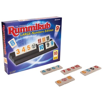Rummikub Game - Large Number Edition