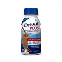 Ensure Plus - Chocolate - 8-oz Bottles - 24-cs