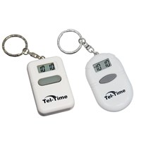 Talking Key Chain 2 Pack (Square and Oval White)