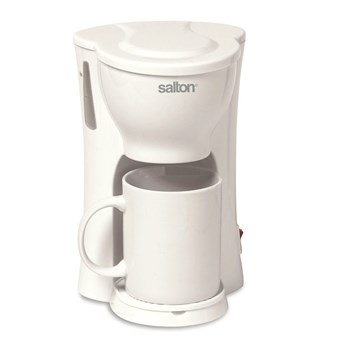 Salton 1 Cup Coffee Brewer - White