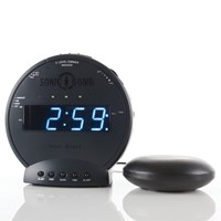 The Sonic Bomb BLACKOUT Alarm Clock with Super Shaker