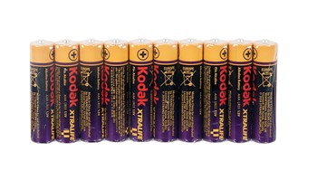 Kodak AAA Batteries - 10 Pack