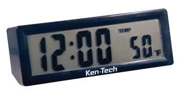 Talking LCD Clock with Volume Control