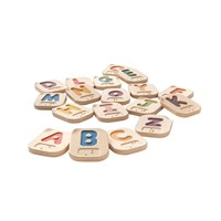 Braille Wooden Alphabet A-Z