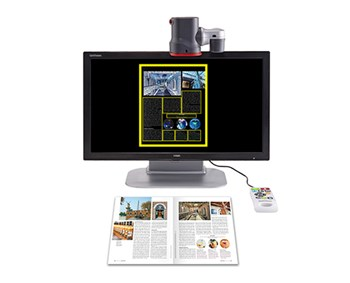 Hims GoVision Pro Video Magnifer - 24 inch LCD Screen
