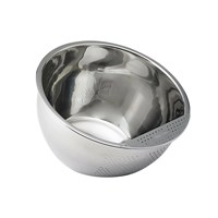 Bowl with Side Drains - Aid for Visually Impaired