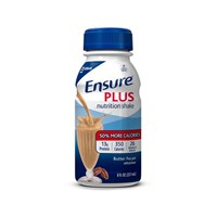 Ensure Plus Shake - Butter Pecan 8-oz Bottles- 24-cs