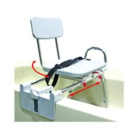 Snap-N-Save Sliding Tub Mount Transfer Bench