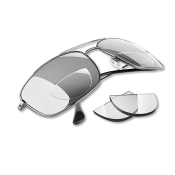 Hydrotac Stick-On Bifocal Reading Lenses - 3.00