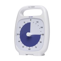 Time Timer Plus - 120 Minute - White