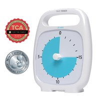 Time Timer Plus - 20 Minute - White