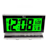 La Crosse LCD Alarm Clock - 2 inches