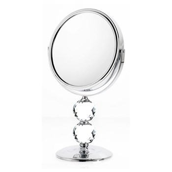Danielle Double Crystal Ball Stem Vanity Mirror 10x