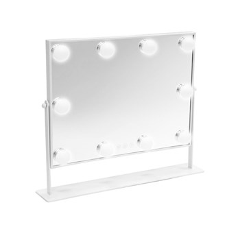 Danielle Large LED Hollywood Vanity Mirror - White