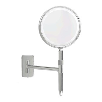 Danielle Wall Mount Hand Held Mirror LED 5X-E