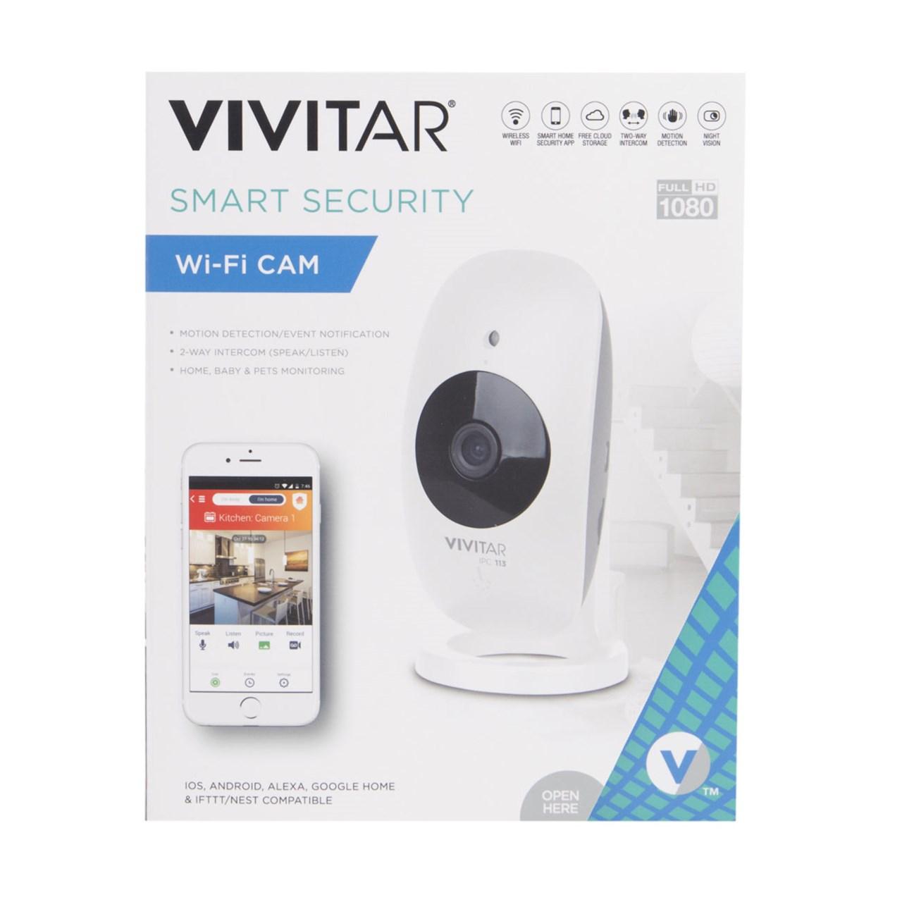 Vivitar Smart Security Wifi Camera