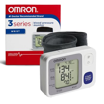 Omron Auto-Inflating 3 Series Wrist Blood Pressure Monitor