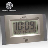 Exactime Atomic Clock Temperature Calendar