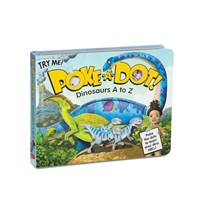 Poke-A-Dot - Dinosaurs A to Z