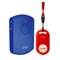 smpl Call Button Kit - Call Button and Caregiver Pager