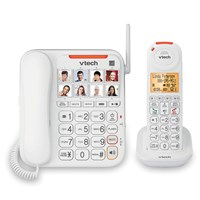 VTech Amplified Corded and Cordless Senior Phone System