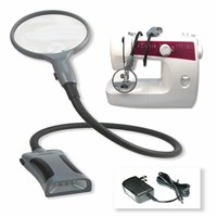 BoaMag Lighted Flexible 2.5x-5x Magnifier-Flashlight