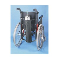 Oxygen Tank Holder for Wheelchairs for D and E Tanks