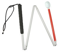 Europa Folding Cane w-Reizen Marshmallow Hook Tip- 56-in.