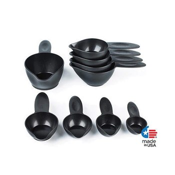 POURfect Braille and Tactile Measuring Cups- Imperial Black
