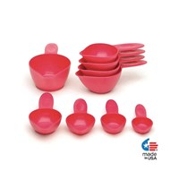 Braille and Tactile Measuring Cups- Empire Red