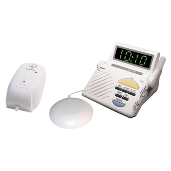 Sitter Baby Cry Signaler, Alarm Clock Receiver, Bed Vibrator Combo