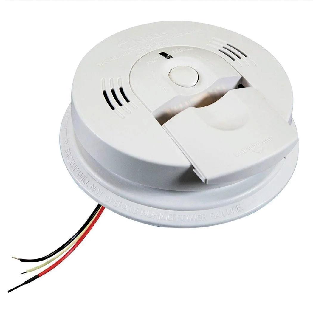 Kidde Smoke And Carbon Monoxide Alarm With Battery Backup