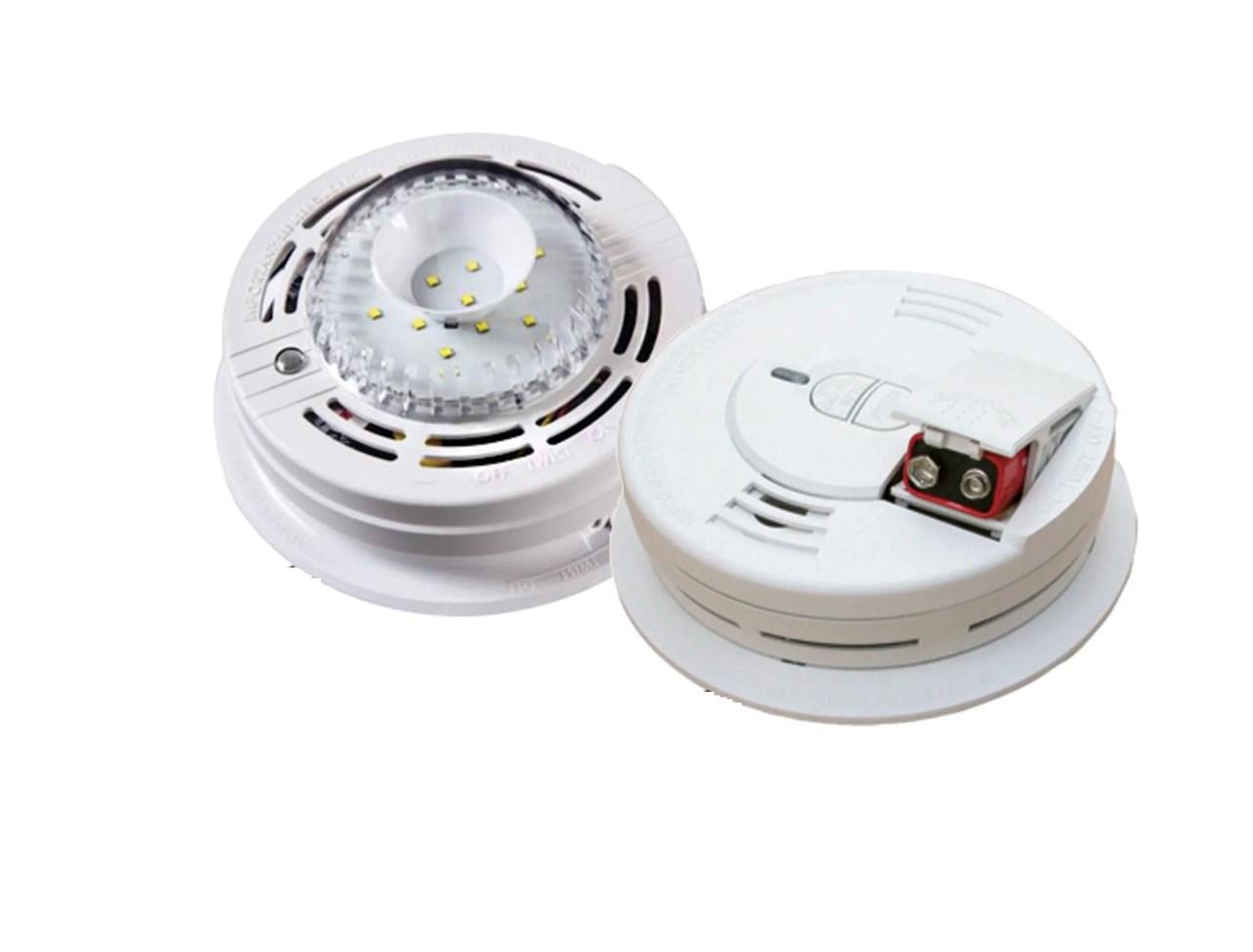 Kidde 10LLCO Carbon Monoxide Detector /& 10Y29 Optical Smoke Alarm Special Offer