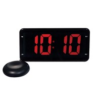 Extra Loud Digital Alarm Clock with Bed Shaker