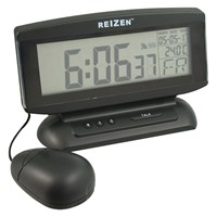 Reizen Talking Clock with Large LCD Display and Vibrating Alarm