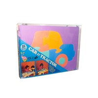 Car and Tractor Soft Foam Puzzles