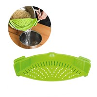 Clip-On Silicone Safety Strainer