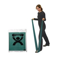 CanDo Latex Free Exercise Band - 4-ft. - Green - Medium Intensity