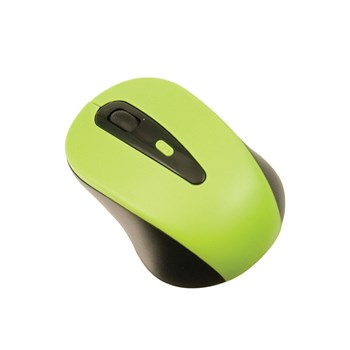 Wireless USB Optical Mouse for Keys-U-See - Green