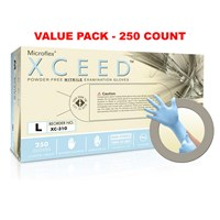 Powder-Free Nitrile Examination Gloves -Large
