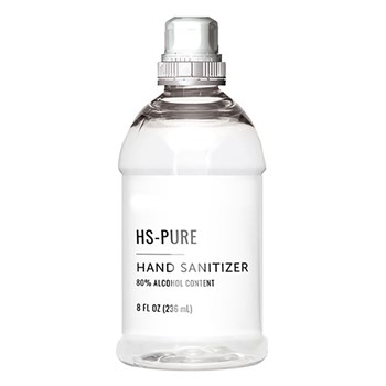 HS PURE Hand Sanitizer 8 oz. Pull top