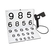 LEA NUMBERS Chart for Vision Rehabilitation