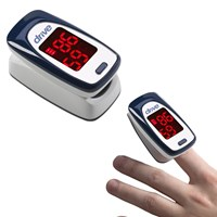 Drive Deluxe Fingertip Pulse SpO2 Oximeter with Hi-Res OLED Screen