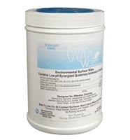 Audiowipes Disinfectant Towelettes -Canister