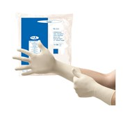 Non-Sterile Powder-Free White Nitrile Exam Gloves - Large - 100