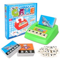 Vocabulary Fun Spelling Game - Braille Version Modified by MaxiAids