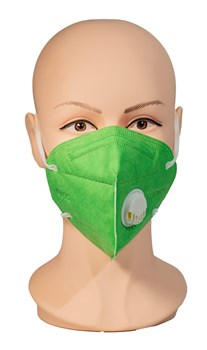 Reusable Face Mask Green-2 pack