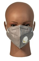 Face Mask with single Exhale Vent- Grey