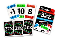 3Up 3Down Card Game Braille Version