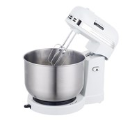 5 SPEED RETRO STAND MIXER- WHT